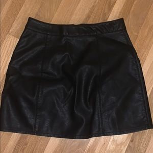 Leather skirt NEVER WORN